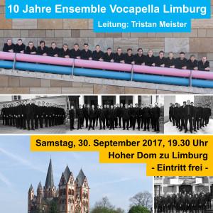 Jubiläumskonzert 30.09.2017